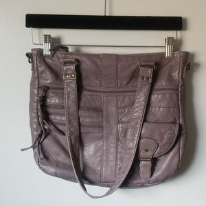 Lavender Shoulder Bag